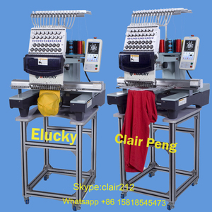 15 colors computerized brother sister single head embroidery machine