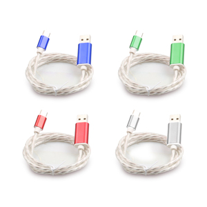 Factory direct sale high quality stylish data cable usb, usb cable with led light