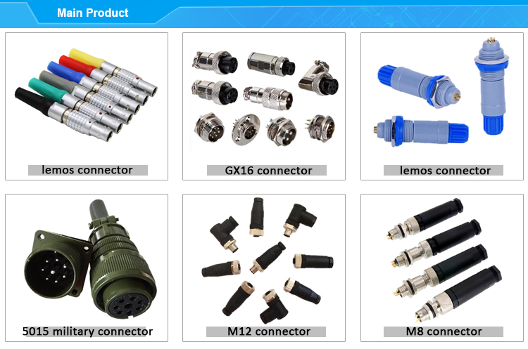 Equivalent to Binder Phoenix M12 3 4 5 pin connector M12 male female cable