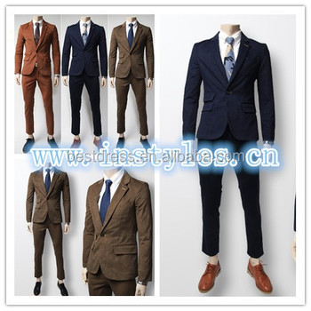 Walson Wholesale Checkout Casual Men Slim Fit Business Suit Long ...