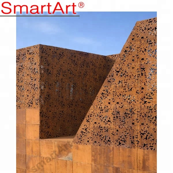 corten <strong>steel</strong> wall for building facade art <strong>steel</strong>