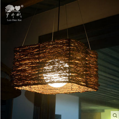 Wonderful ball hanging mini drop lamp shade large pendant light bamboo