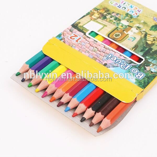 Lvxin Stationary Custom Logo Colored Pencil Set School