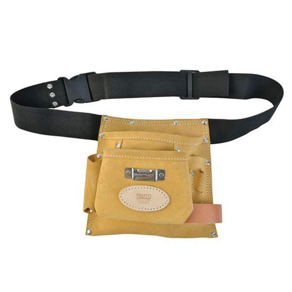 Electrical Maintenance Technician Framer Carpenter Tool Belt Pouch Work Organizer Home Apron Tool Bag with Poly Web Belt Hammer holder ring
