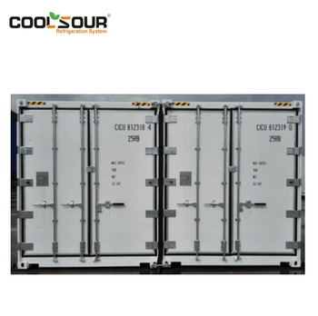 COOLSOUR 20ft Freezer Refrigerator Container, 40ft Meat Refrigerator Wagon