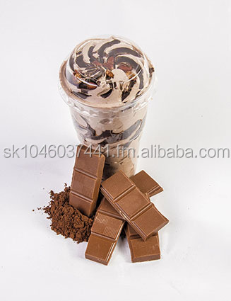 chocolate , banan , strawberry , pulm , orange , vanilia sweet cup 80g ,200g