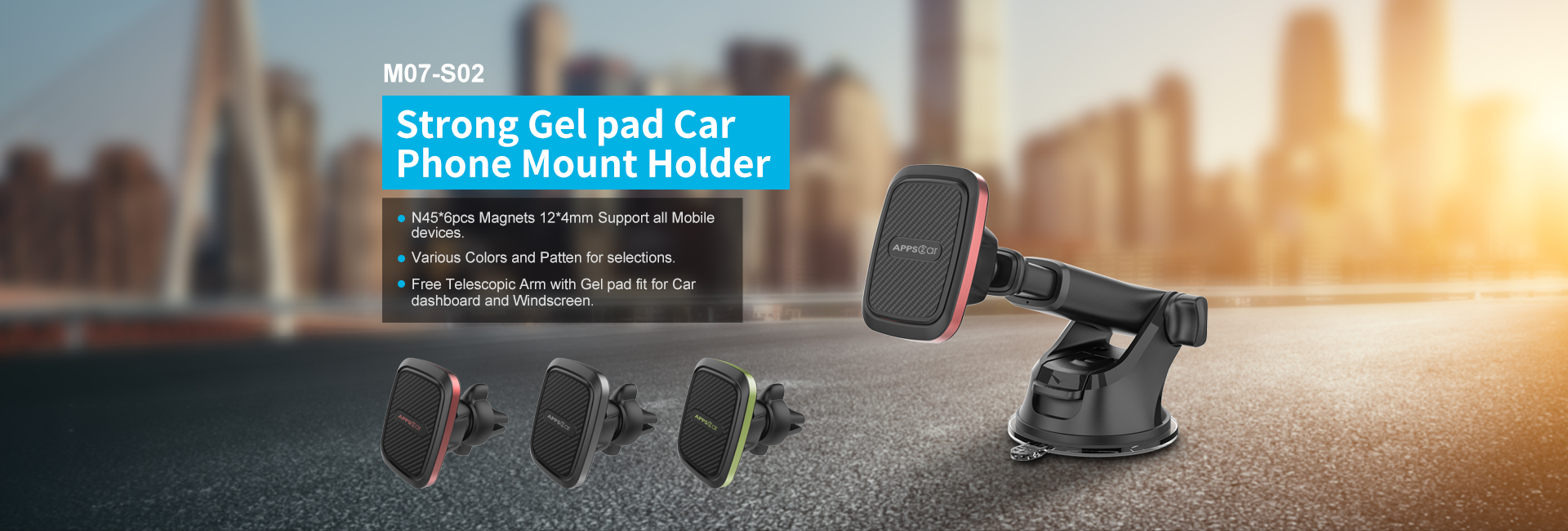 Fly Universal Mobile Car Holder Air Vent Mount Magnetic Phone Holder For Car