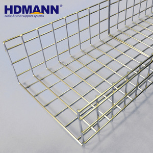 HDMANN Stainless Steel SS304 Wire Mesh Cable Tray Price Cable Basket