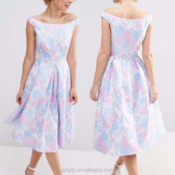 Импорт одежды из Китая anly красивые жаккардовые миди для выпускного  женские платье bca5871e077af