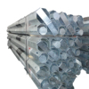 hot dip galvanised steel pole
