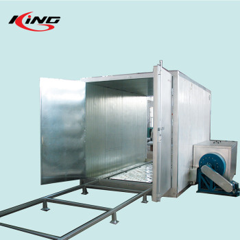 manufacturer CE gas oven powder coating