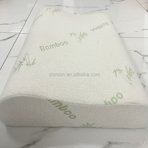 Pressure reducing sleepwell anti-snore memory foam pillow