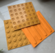 Rubber blind alley brick SC-MDZ/Paving Warning Tactile Tiles for Blind