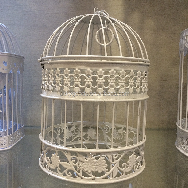 Decoration bulk fancy round bird cage for sale buy round bird cage iron bir - Decoration cage oiseau ...