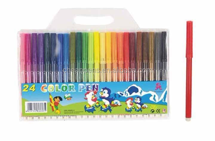 non toxic promotional school water marker set