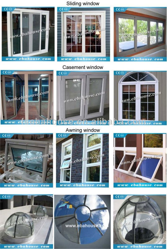 Eba Aluminium Window Glass As2208 As2047 Arch Window New Design ...