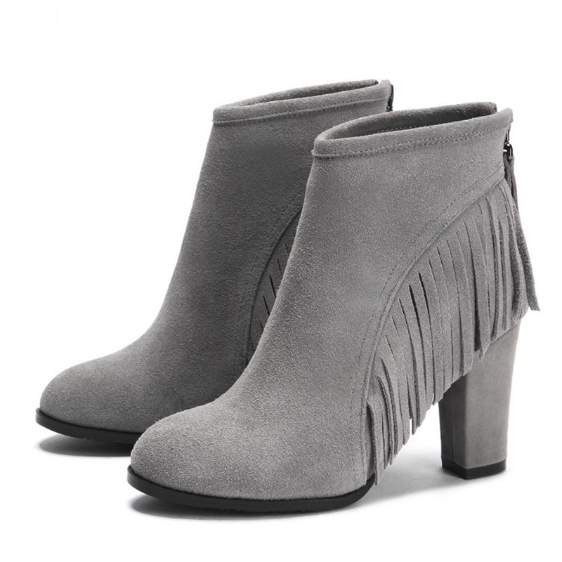 Cheap Grey Women Boots, find Grey Women Boots deals on line at ...