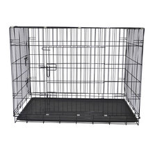 xxxl heavy duty general cage slant front collapsible folding metal dog crate wholesale sale
