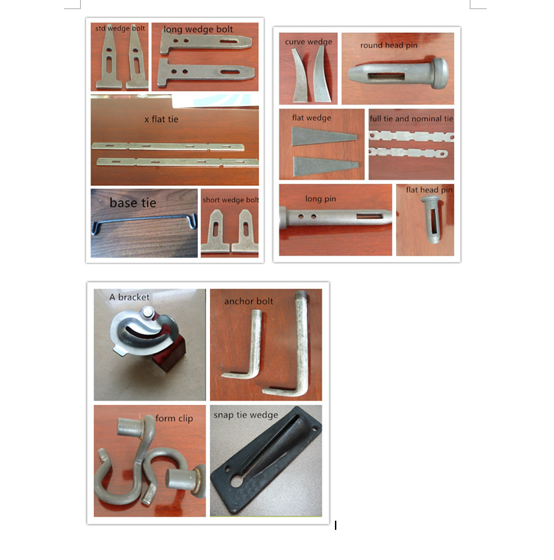 Ellis Form Steel Form Concrete Formwork Accessories X Flat