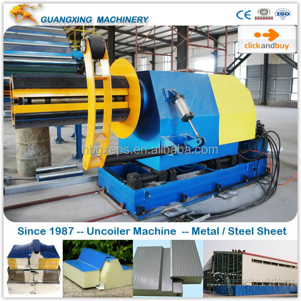 German Machine for High Density Polyurethane Foam Sandwich Panel