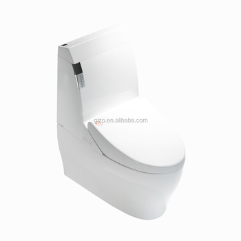 Gold supplier new style s-trap smart toilet with CE