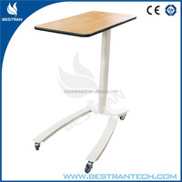 BT-AT003 New design economic over bed chair table for hospital