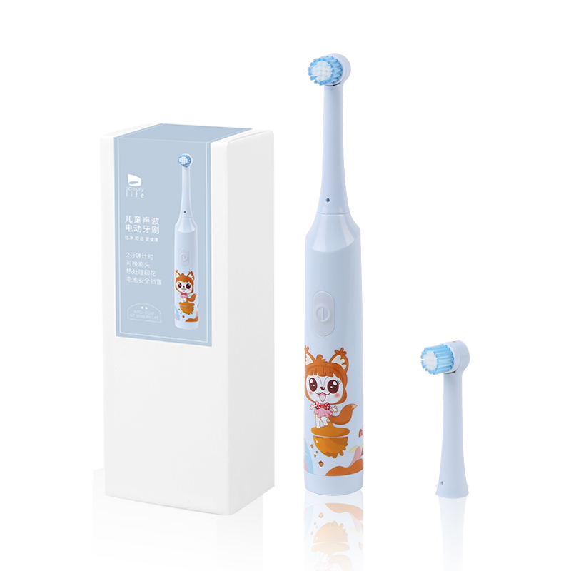 2018 hochwertige, elektrische Schallzahnbürste mit komfortabler Ausstattung für Kinder