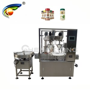 Automatic auger powder filler capper,dry powder filler capper