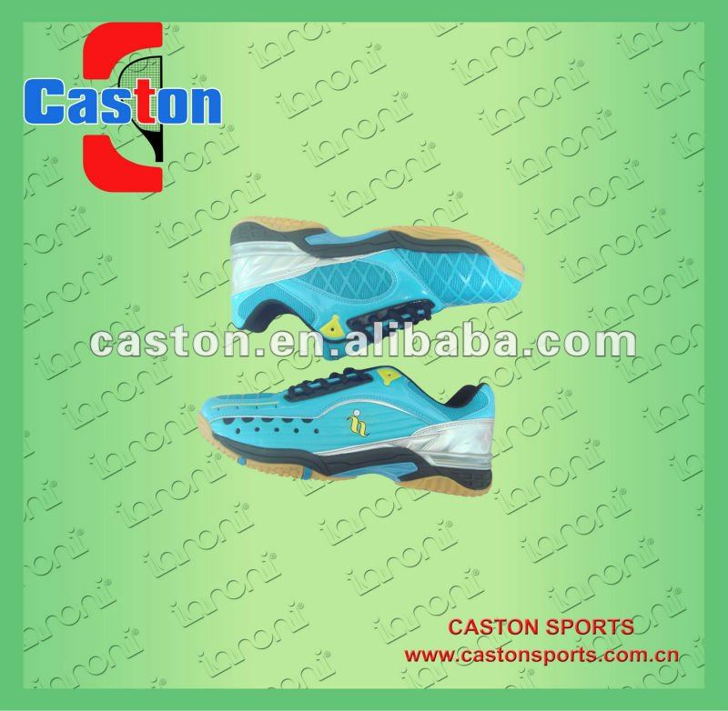 Badminton PU breathe freely sports shoes,2012 new style.