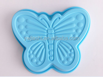 Silicone Butterfly Cake Tin Pan Novelty Bakery Jelly Mould Aluminum Cake Pan Disposable