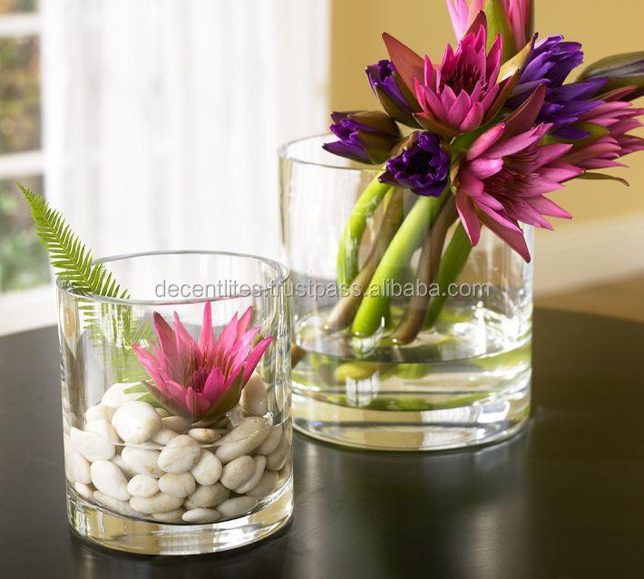 Glass Flower Vasevasesclear Vaseflower Potflower Urn Mosaic Vase