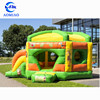 Cheap indoor inflatable bouncer, inflatable bouncy castle, jump castle with slide for kids