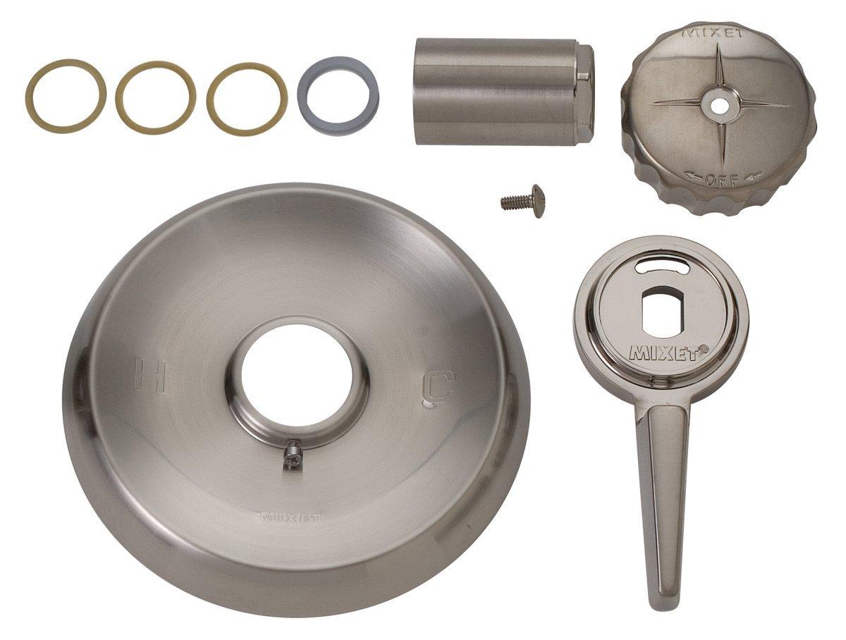 BrassCraft Mfg Mixet #MTR-5 MET SN Single Handle Tub and Shower Trim Kit - PVD Satin Nickel
