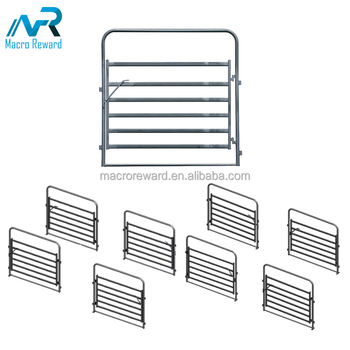 AS/NZS Q235B Zinc Plated Steel Cattle Panel of for Livestock