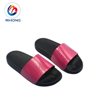5f51c6e07fb Guangzhou profession hand made craft flat custom slippers with logo