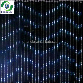 High Bright 9 Colors Raindrop Christmas Lighting Led Flow Water Light For Decoration