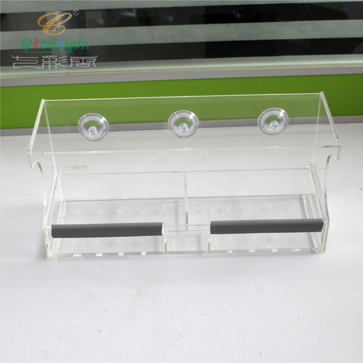 Clear View Deluxe Open Diner Mirrored Window Bird Feeder,Clear Acrylic Window Wild Bird Feeder