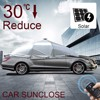 SUNCLOSE uv layer twin wall polycarbonate hollow sheet car baby shade