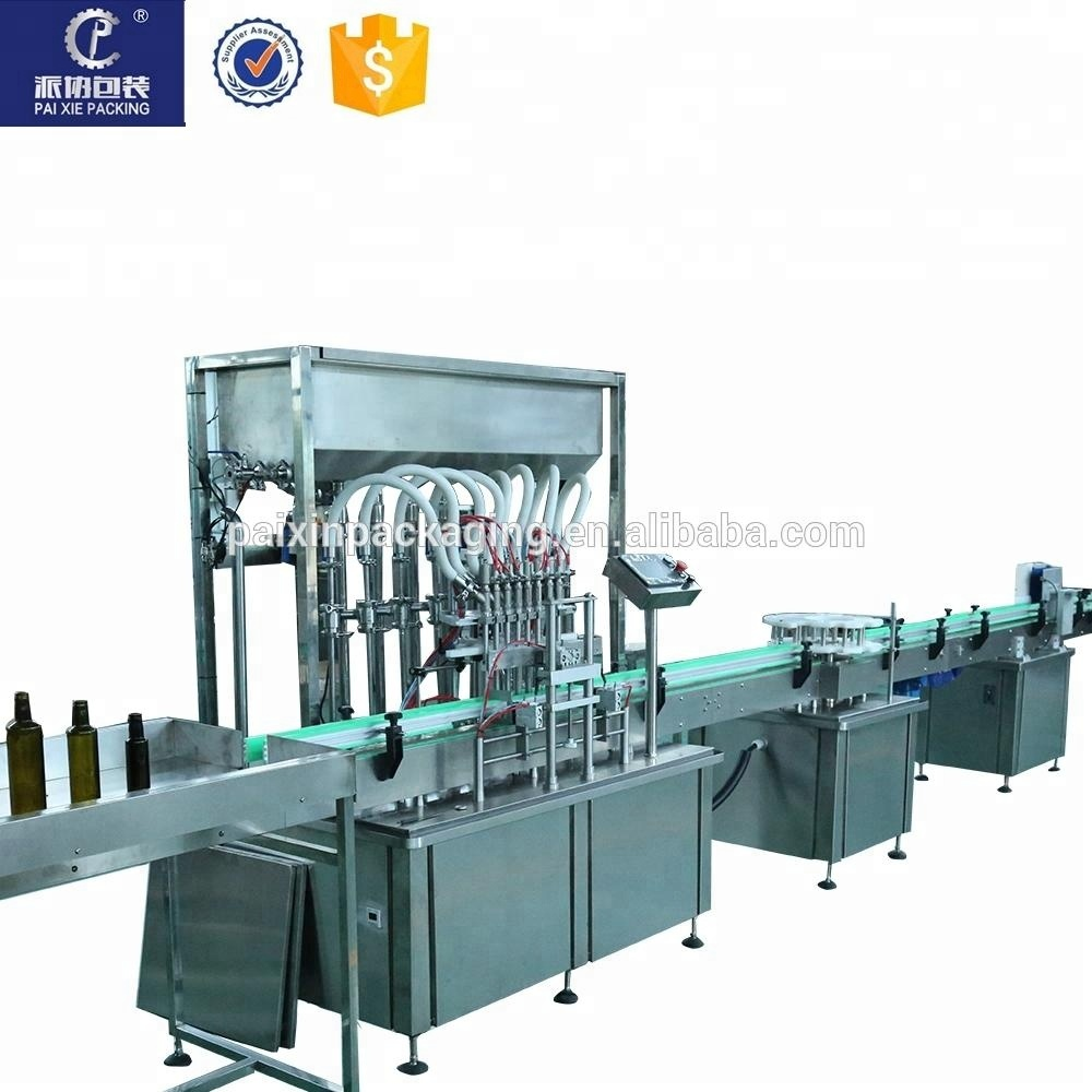 Customized easy maintenance automatic shampoo detergent filling capping machine bottling machine from China manufacturer