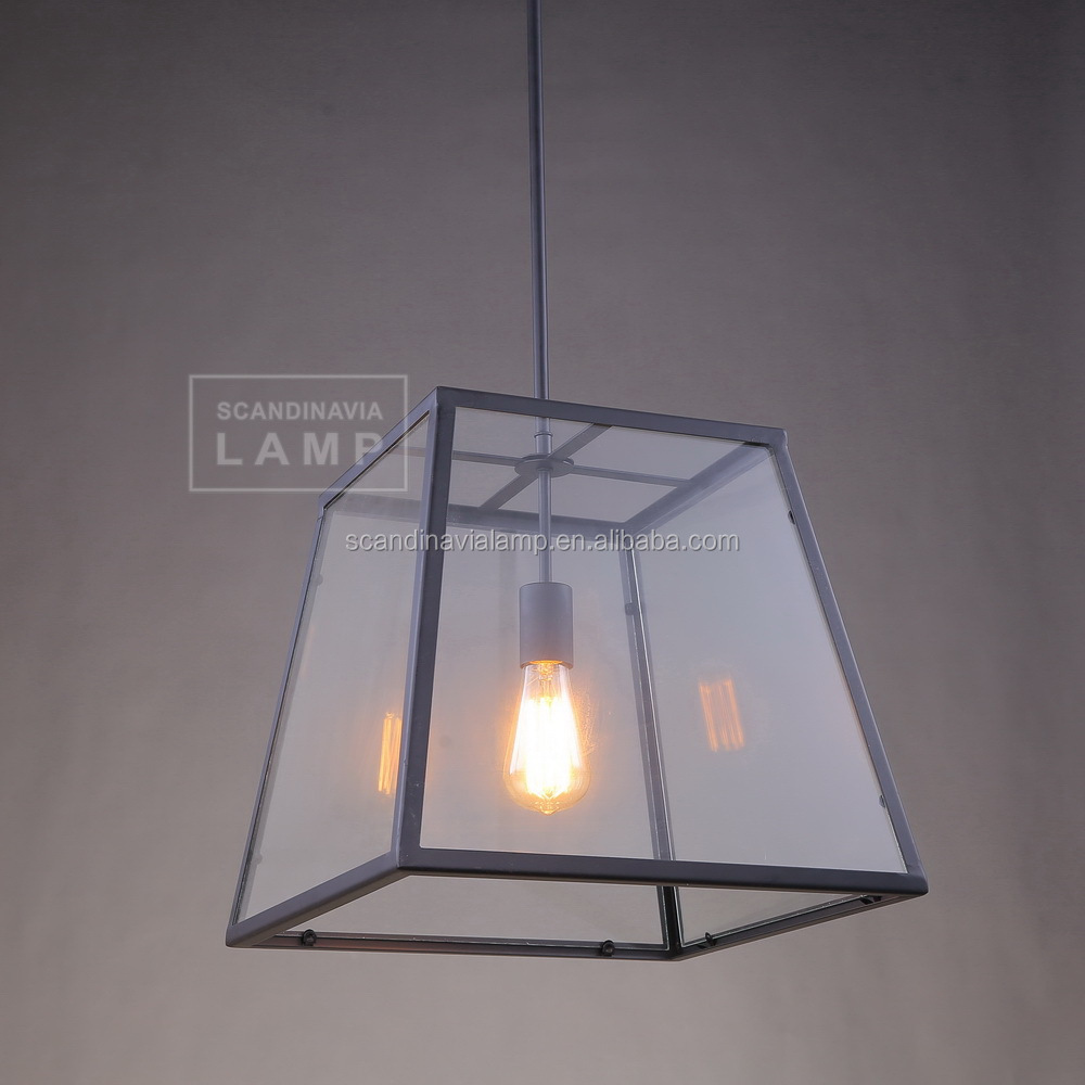 Manufacturer's Premium Metal Cage Hanging Lamp Industrial Loft ...