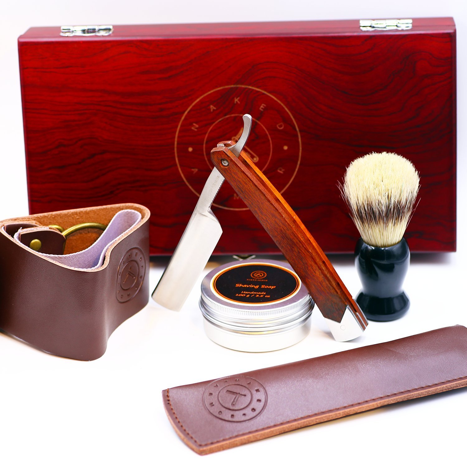 Cheap quality straight razor find quality straight razor deals on get quotations amazing straight razor shaving kit quality shave at home samurai strong sharp edge japanese baditri Image collections