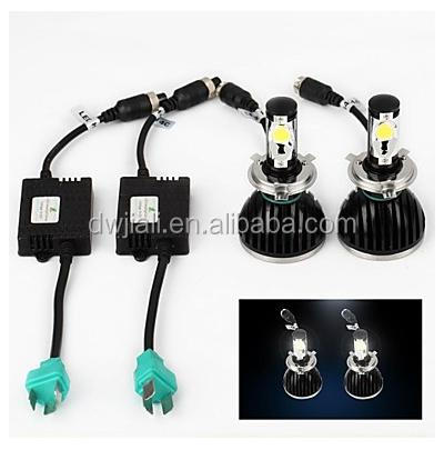High Power High Brightness h4 white bulb headlamp toyota corolla and vw polo car