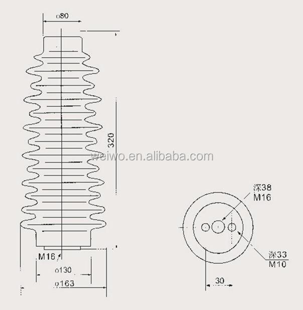 insulator fitting    insulator joint    transformer bushing