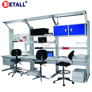 Detall Modular Adjustable ESD Electronic workbench