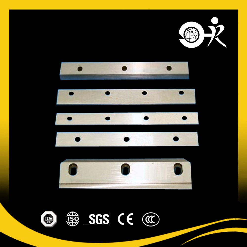 Aluminum industrial blade for pneumatic tube cutter