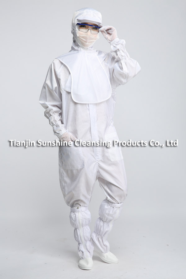 OEM Service Available Antistatic Apparel Cleanroom Suit