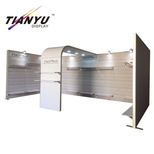 shelf divider shoecase display clothing stand modular aluminum exhibition booth.