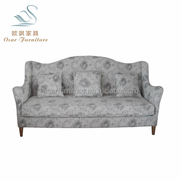 Home Decor Living Room Floral Fabric Upholstered Sofa Furniture