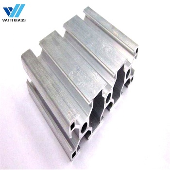 China industrial extruded anodized aluminum extrusion profile