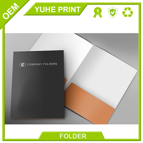 Overseas promorion price top quality fashionable recycled China factory wholesale paper resume folderer with logo